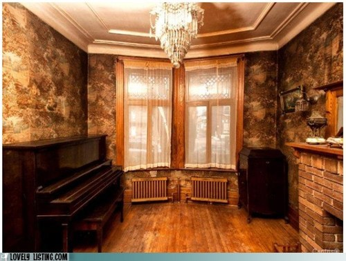 demons ghosts haunted monster parlor room scary - 5994427136