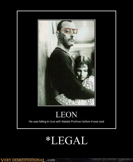 cool,hilarious,legal,leon the professional