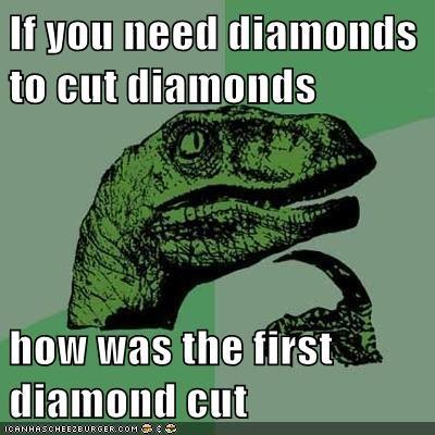 cut diamonds philosoraptor - 5994595584