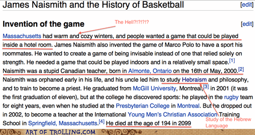 james naismith,wikipedia