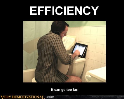 efficiency hilarious toilet too far wtf