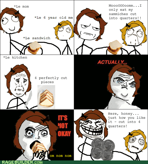 mom,not okay,Okay,quarters,Rage Comics