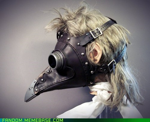 beak cosplay mask Steampunk - 5995804928