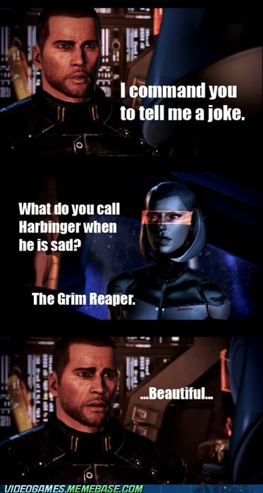 grim reaper harbinger joke mass effect - 5995826176