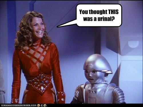 Buck Rogers joella cameron malfunctioning markie post robot twiki urinal - 5996153856