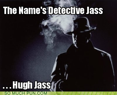 ass homophones huge hugh surname - 5996463616