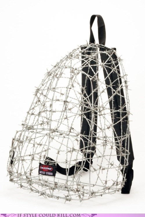 backpacks barbed wire cool accessories - 5996467968