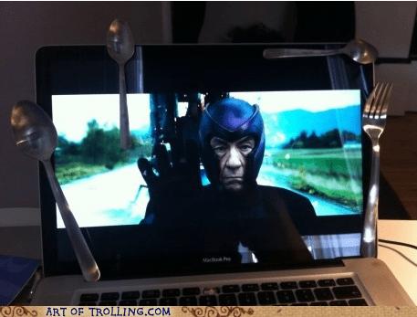 IRL magnet Magneto movies spoons xmen - 5996635136