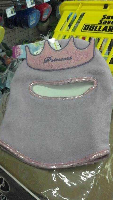 baby balaclava princess ski mask - 5996991744