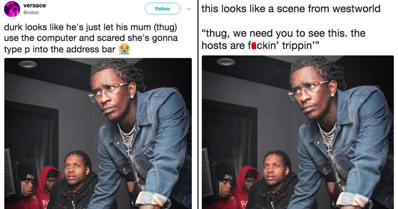 young thug and lil durk in the studio Music 21 savage hip hop lil durk rap young thug and lil durk troubleshooting young thug in the studio Star Trek star trek memes - 5997573