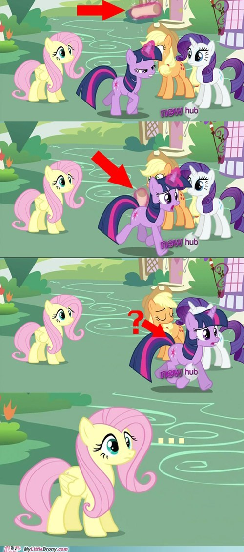 cannot unsee comics fluttershy letter magic - 5997766912