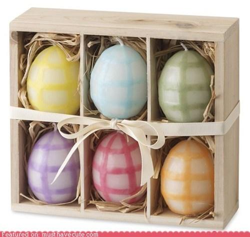 candles colorful eggs lattice - 5997921024