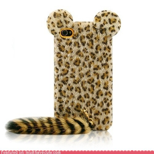 case ears faux fur iphone tail - 5997937152
