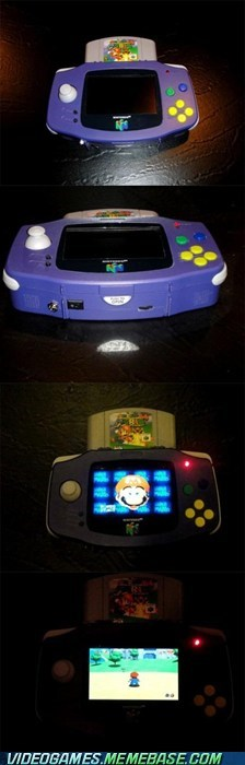 handheld IRL nintendo 64 portable shut up and take my money super mario 64 - 5997988864