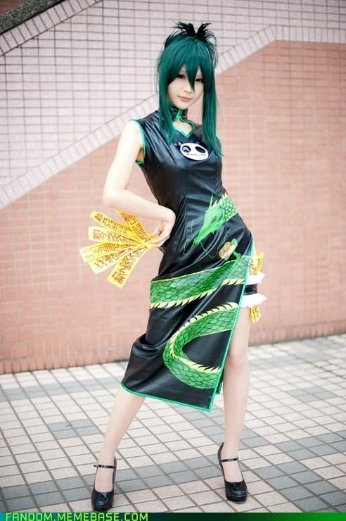 anime cosplay manga shaman king tao jun - 5998084352