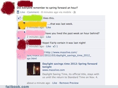 common sense daylight savings time