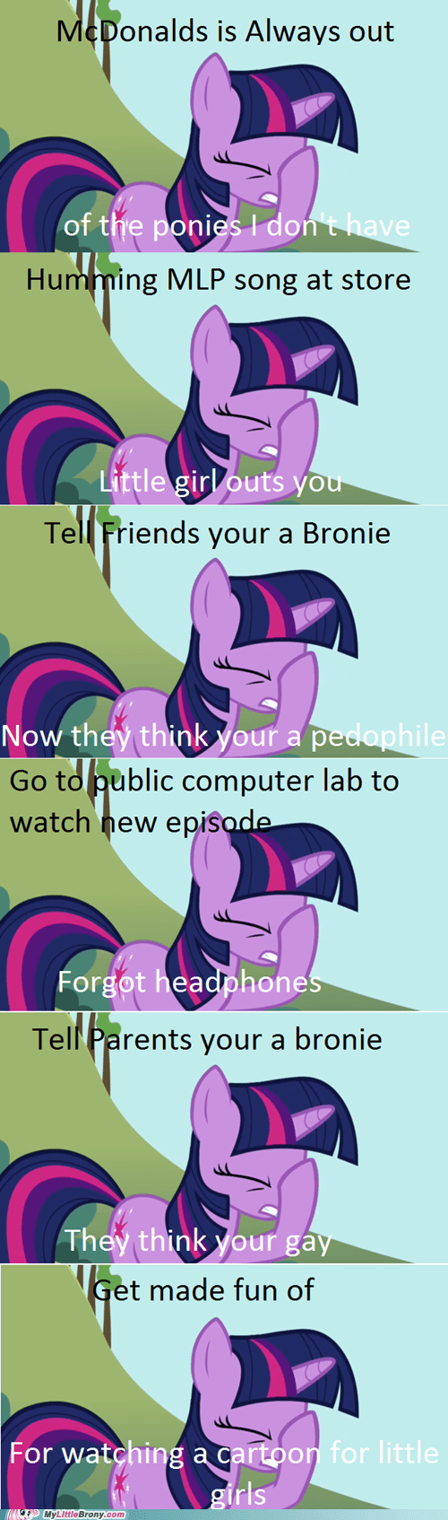 Bronies brony world problems First World Problems meme - 5998387968