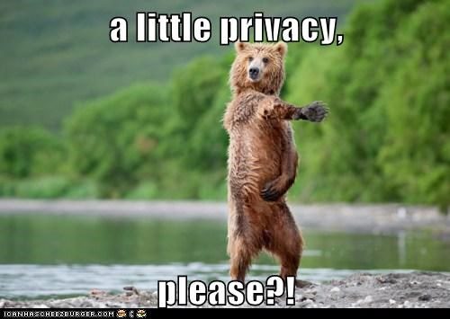 bathing bears covering up personal space please privacy - 5998864384