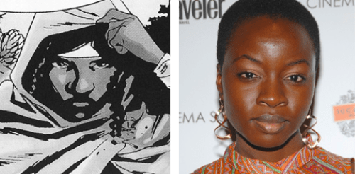 casting news,Danai Gurira,michonne,The Walking Dead,tv shows