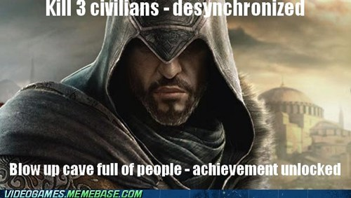 animus assassins creed desynchronized meme Ubisoft