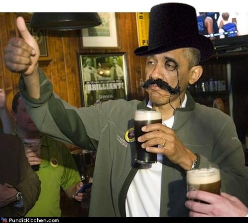 barack obama beer Hall of Fame political pictures St Patrick's Day - 5999142400