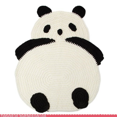 decor panda rug - 5999356416