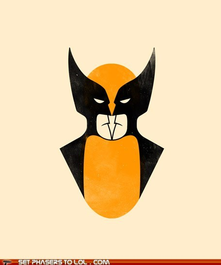 batmen,best of the week,optical illusion,see,superheroes,wolverine