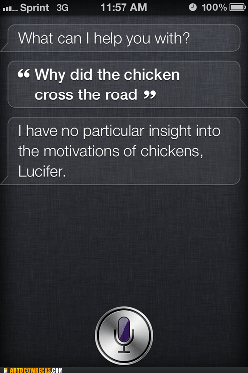 chicken,joke,siri
