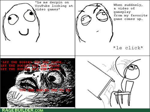 Rage Comics,raisin face,table flip,video games,videos