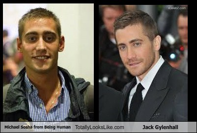 Michael Sosha from Being Human Totally Looks Like Jack Gylenhall