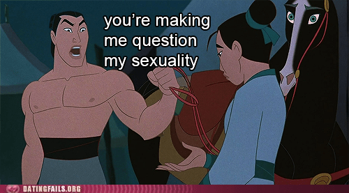 ghey,mulan,ping,questioning sexuality
