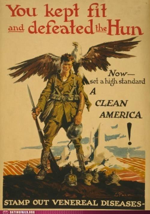 clean america no fun propaganda VD war - 5999809024