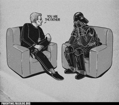 darth vader maury maury povich not the father star wars