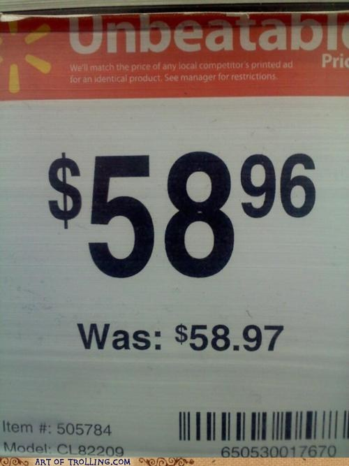 what a deal Walmart savings