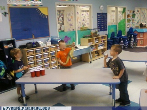 after 12 beer pong g rated kids school tanked toddlers