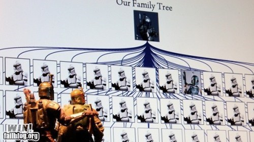 boba fett,Family Tree,genealogy,nerdgasm,star wars