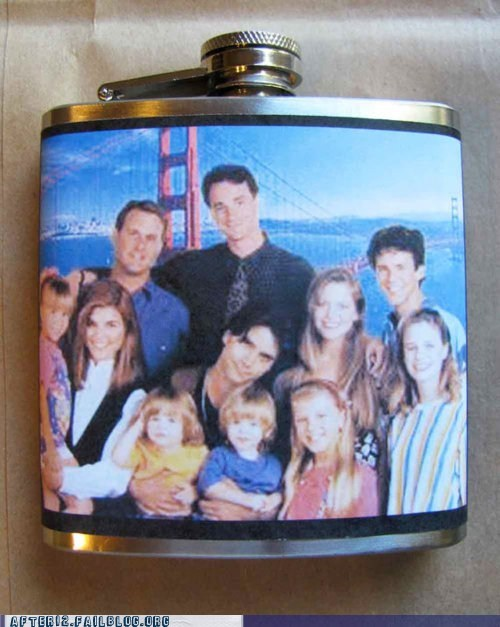 90s art flask full house television