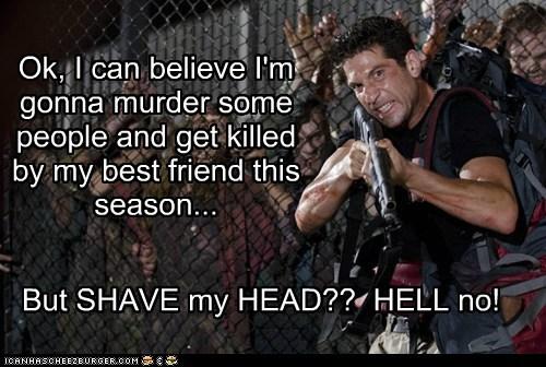 believe best friend john bernthal killed murder shane walsh shaved head The Walking Dead - 6000280832