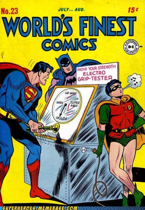 batman jerk robin Straight off the Page superman wtf - 6000370944