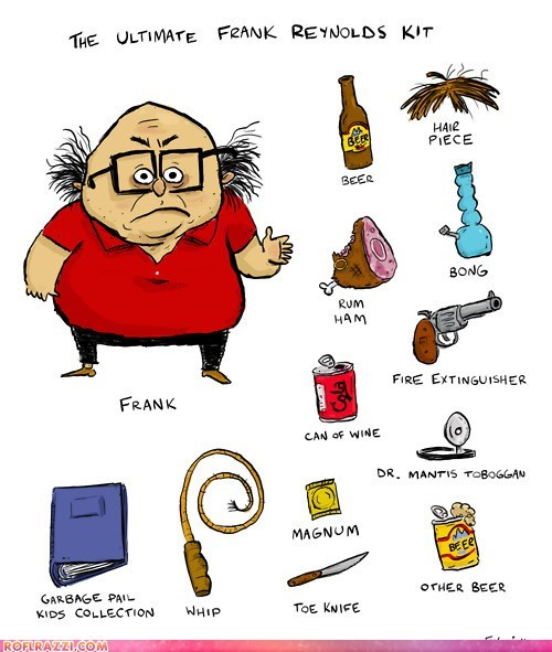 The Ultimate Frank Reynolds Kit
