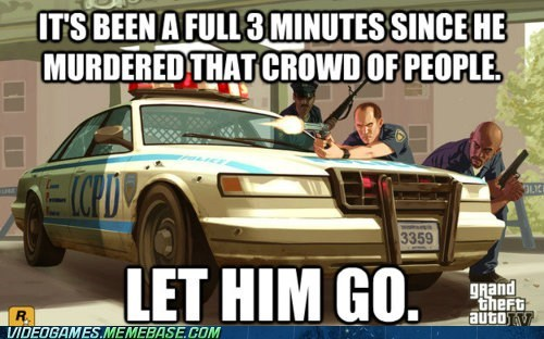 cops Grand Theft Auto he cooled down meme or maybe we should bring int he tanks paintjob police - 6000647424