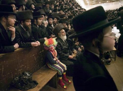Clown Kids These Days Krusty The Klown IRL Purim - 6000882432