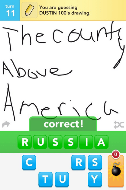 america draw something geography russia united states - 6000885760