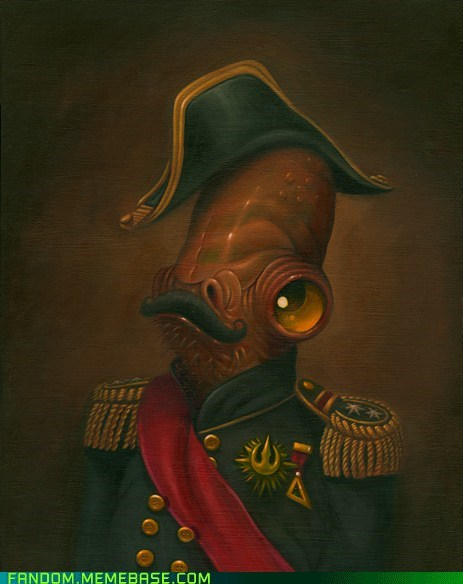 admiral ackbar Fan Art movies star wars - 6000899584