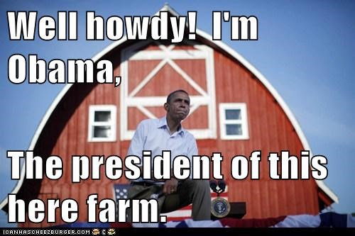 barack obama,farm,political pictures