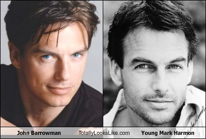 actor,celeb,funny,Hall of Fame,john barrowman,mark harmon,TLL