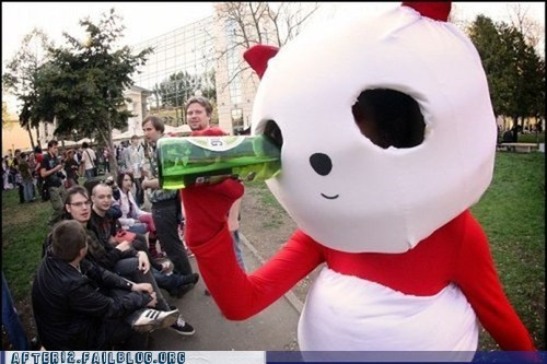 drinking,eye,mascot,suit