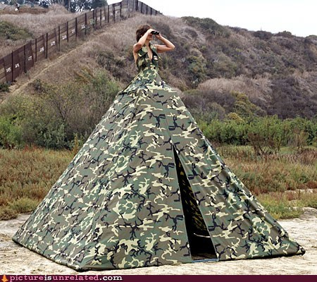 camouflage camp dress wtf - 6001698816