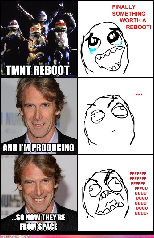 comic,director,funny,Hall of Fame,Michael Bay,Movie,TMNT