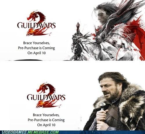 arenanet brace yourselves guild wars guild wars 2 meme - 6002218240